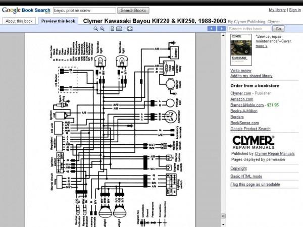 2000 Bayou 220 Wiring Diagram