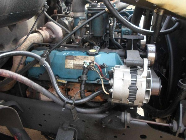 International T444e Engine For A 1997 International 4700 For Sale