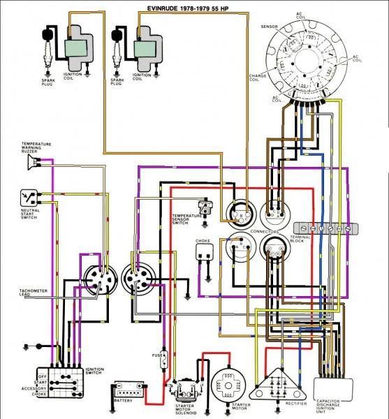 Evinrude Wiring Diagrams