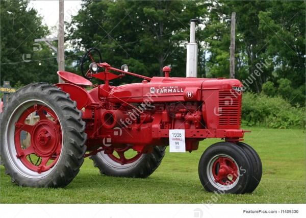 Farmall Tractor Stock Image I1409330 At Featurepics