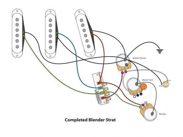 Standard Stratocaster Wiring