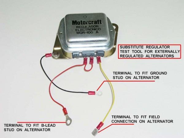 Alternator Voltage Regulator Wiring Diagram