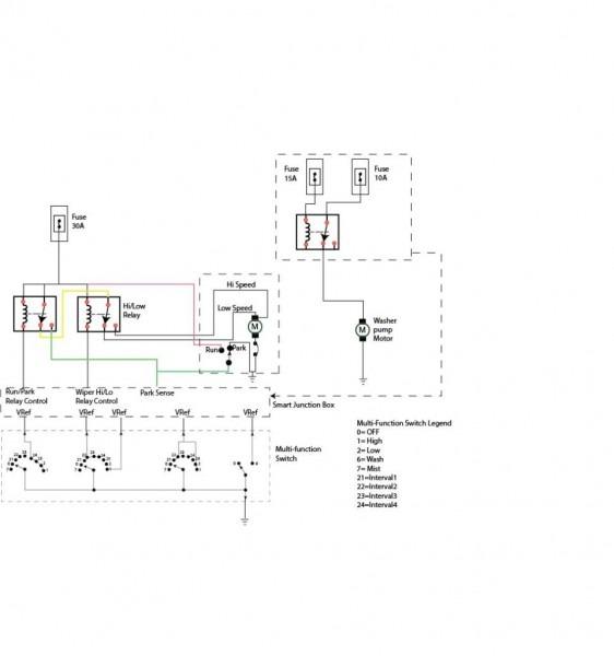 Ford Wipers Wiring Diagram — Ricks Free Auto Repair Advice Ricks