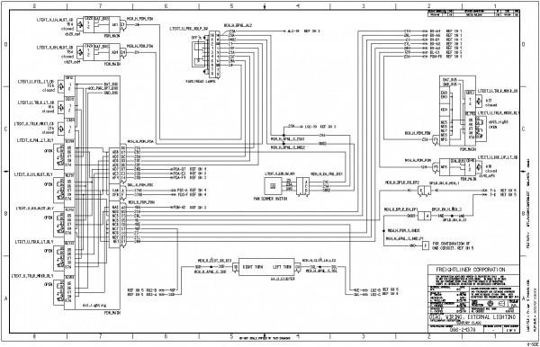 2007 Freightliner Columbia Wiring Diagrams