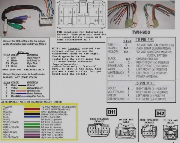 Alpine Wire Harness Diagram