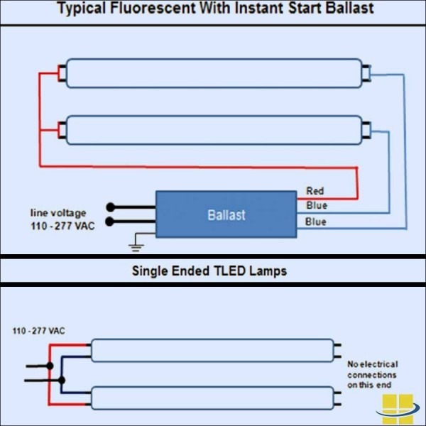 T12 To T8 Wiring Diagram