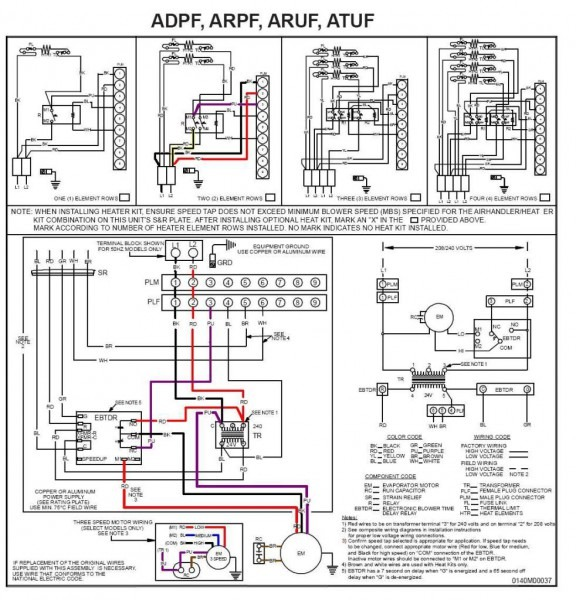 goodmanarufdiagram_3 Ram Wiring Diagram For Tail Lights on