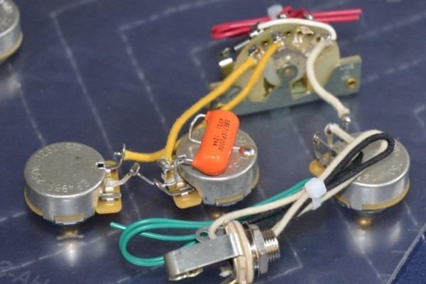 Standard Stratocaster Wiring Harness – 5