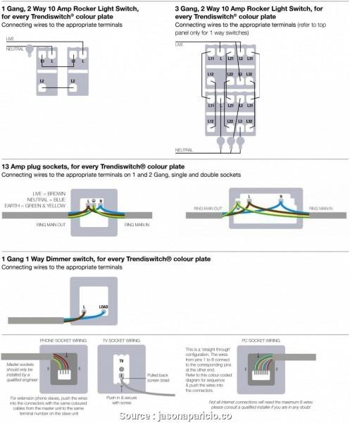 2 Gang Schematic Wiring
