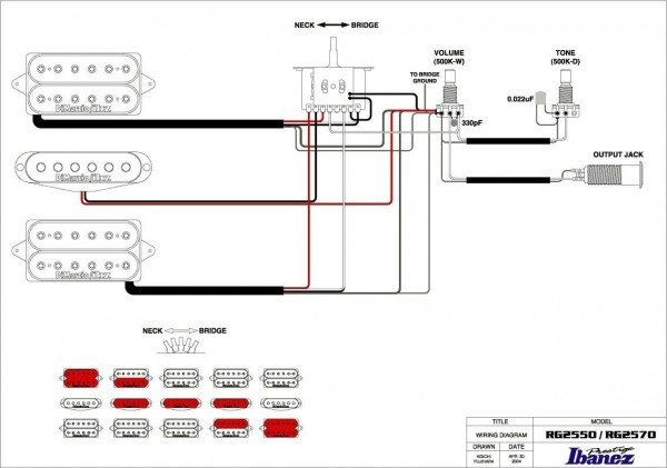 Mega 5 Way Switch Diagram