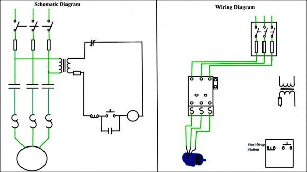 Wire Diagram Starter Motor