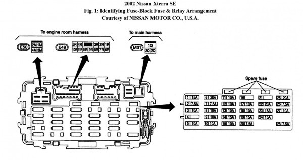 Nissan Xterra Engine Diagram