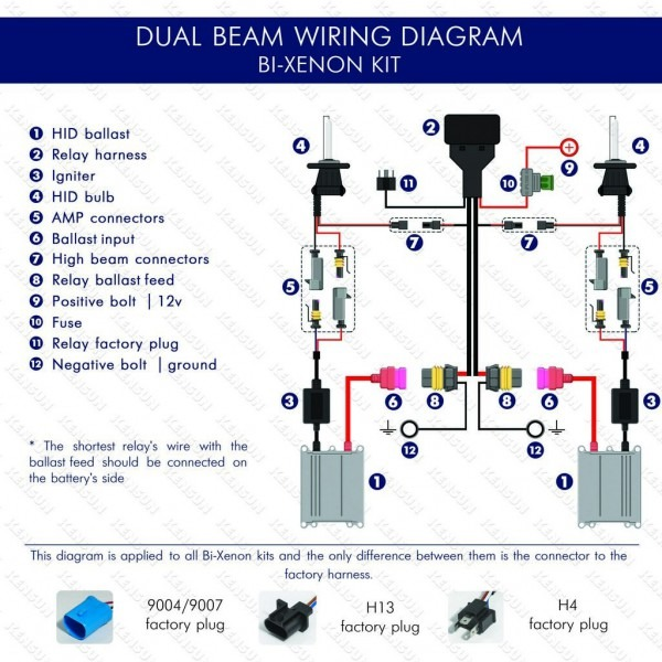 9007 Wiring Diagram