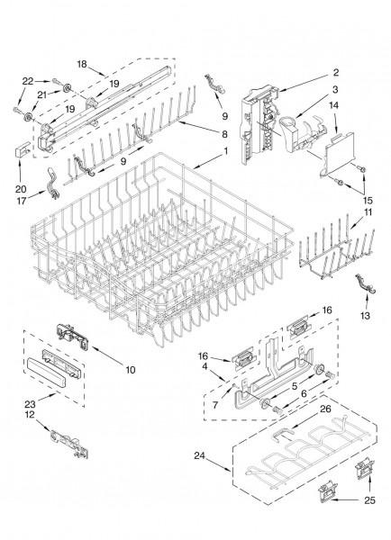 Kitchen  Kitchenaid Dishwasher For Your Kitchen Storage Design