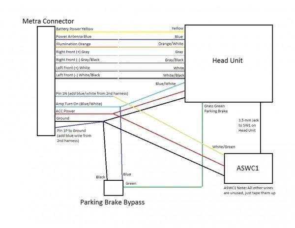 Alpine 445u Wiring Diagram