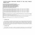 Car Assembly Process Flow Chart
