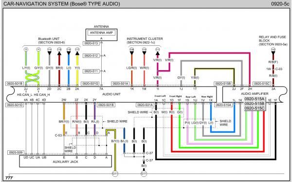 Mazda 6 Bose Wiring Diagram