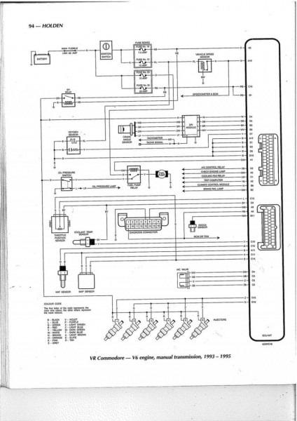 Vs V6 Auto Wiring Diagram