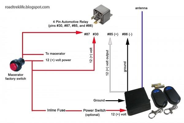 Wiring A 12 Volt Switch Diagram