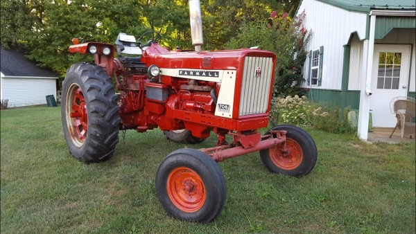 How To Start A Ih Farmall 706 Tractor With The D310 German Diesel