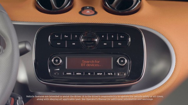 Smart Fortwo Audio System
