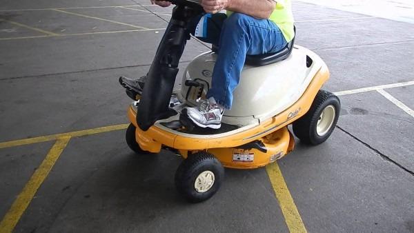 Cadet Yard Bug Riding Lawn Mower