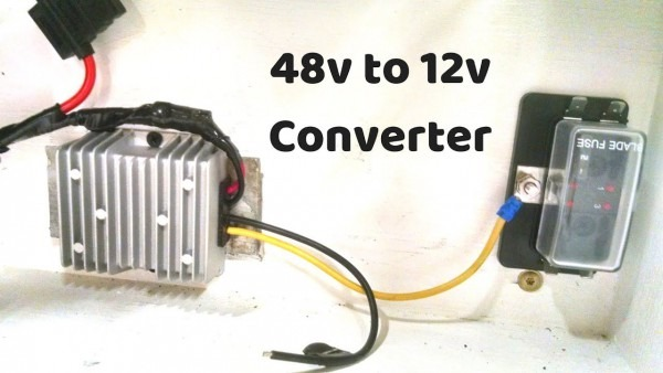 Making 12 Volts From My 48 Volt Battery, Diy Powerwall