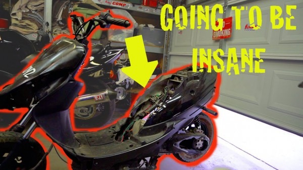 Making A 50cc Scooter Crazy Fast