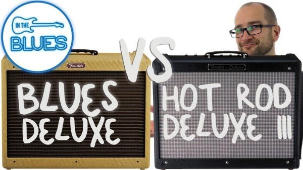 Fender Blues Deluxe Vs Fender Hot Rod Deluxe Iii Amplifier