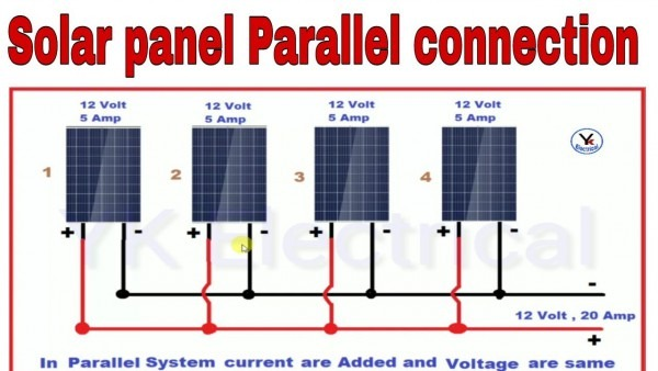 Parallel Wiring Solar Panels