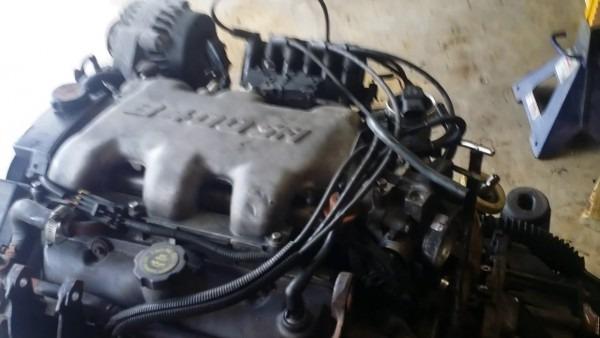 2001 Chevrolet Impala 4t65e Transmission Removal (part 1)