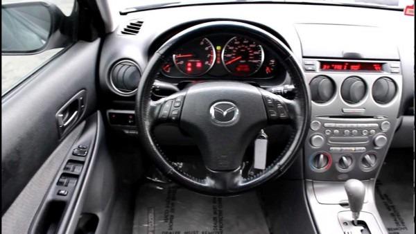 2004 Mazda 6 I, Black