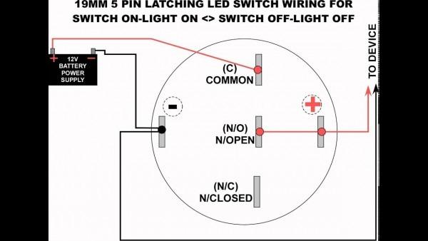 Led Switch Wiring Diagram