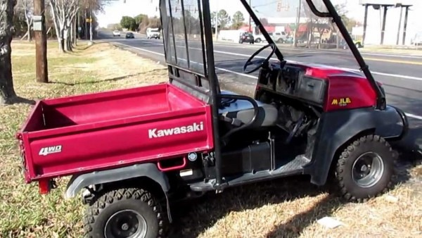 One Owner Kawasaki Mule For Sale In Mansfield Texas, New Drive