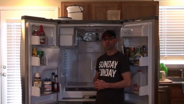 Clearing Defrost Drain Tube On A Ge Profile Refrigerator (please