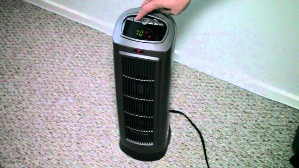 Lasko Ceramic Tower Space Heater With Remote