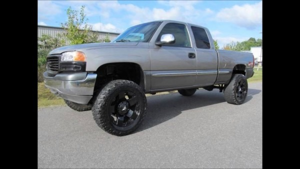 2000 Gmc Sierra 1500 Sle Lifted Truck For Sale
