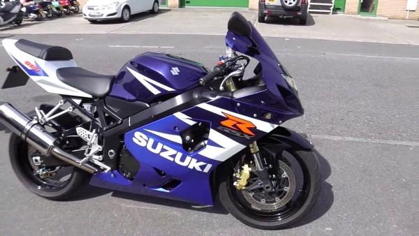 2004 Suzuki Gsxr 600 Motorcycle