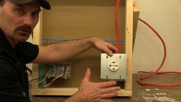 Range Receptacle Wiring