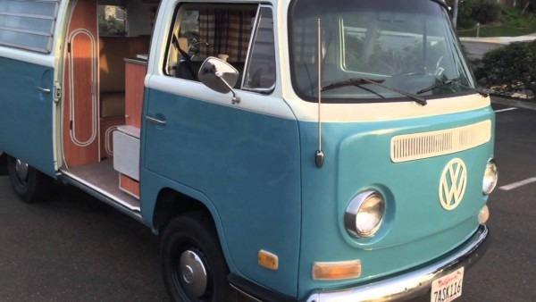 1971 Vw Bus Campmobile