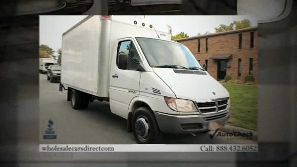 2005 Dodge Sprinter 3500 For Sale (box Truck)