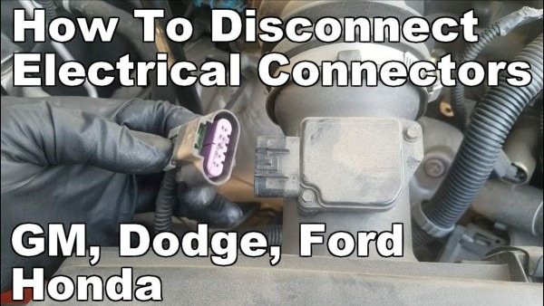 How To Disconnect Electrical Connectors Gm Chevy, Dodge Chrysler