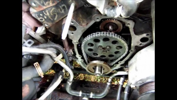 Chevy S10, Plastic Timing Cover Leak 4 3