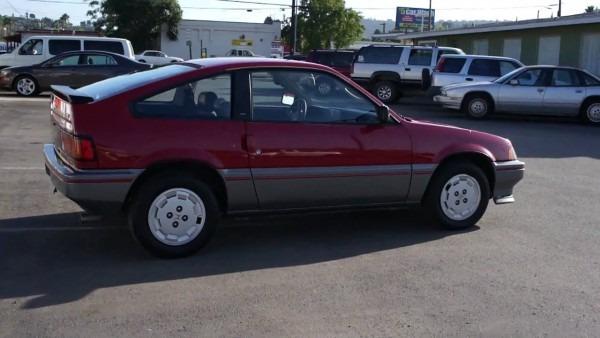 1985 Honda Crx 103k Orig Miles For Sale 1 Owner