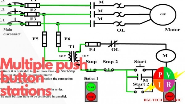 Push On Start Stop Wiring Diagram