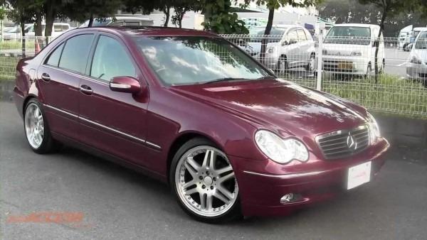 2001 Mercedes Benz C200 Kompressor