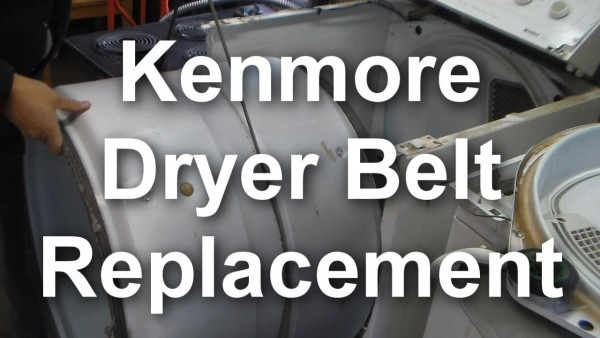 How To Replace The Belt On A Kenmore 90 Series Dryer