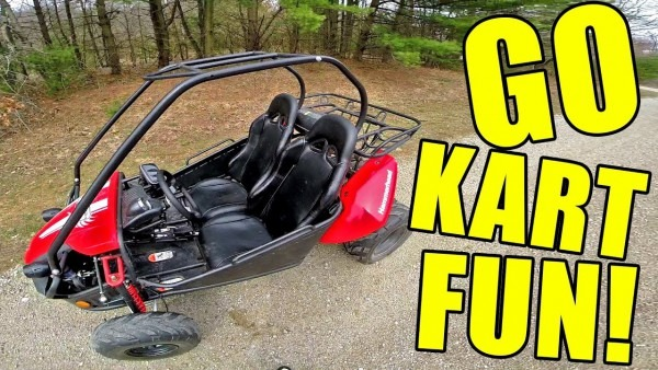 Hammerhead Gts 150 Go Kart Pov Fun! + Top Speed