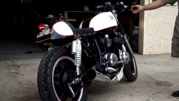 Bare Bone Rides Custom 1979 Honda Cb750 Cafe Racer Build (fired