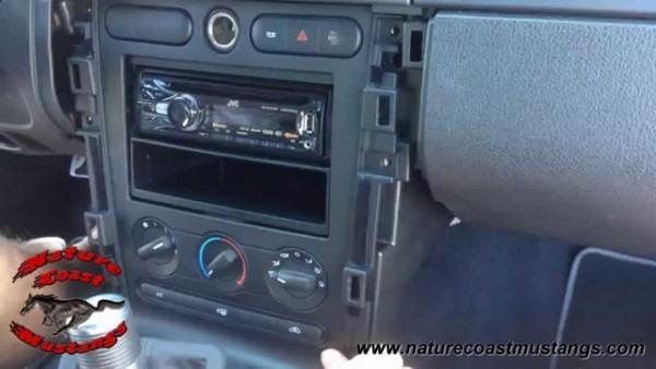 Replacing Shaker 500 In 2008 Mustang